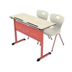 compact double school desk