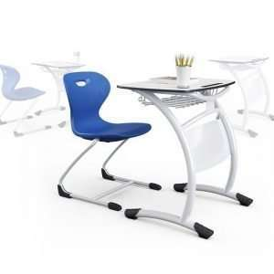 compact laminate school desk