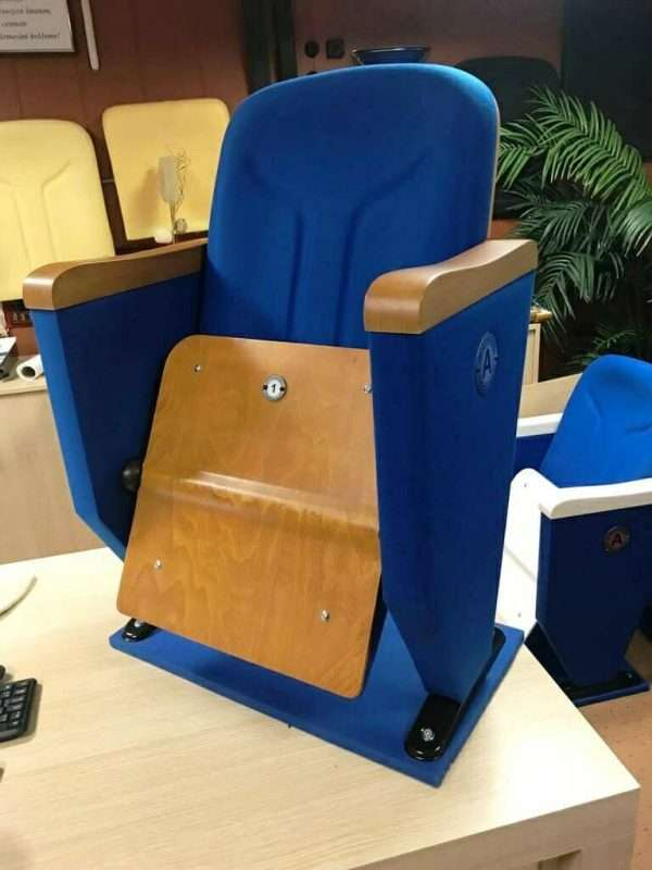 theater chairs with cup holders - folding theater chair RT-99611-4