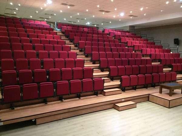 retractable auditorium seating -RT1225