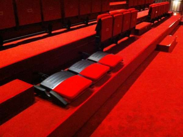 retractable theatre seating -RT1225