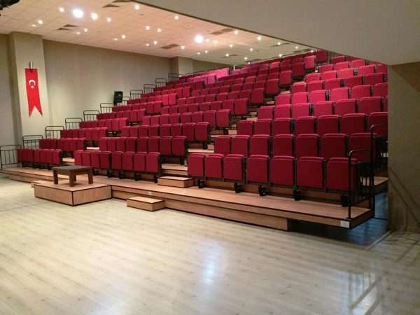 telescopic retractable seating system -RT1225