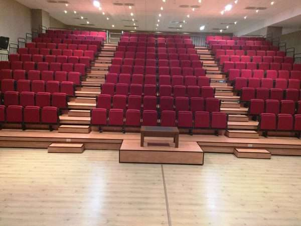 telescopic seating systems -RT1225